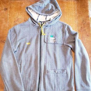 Nike Dew x collab hoodie tweed jacket